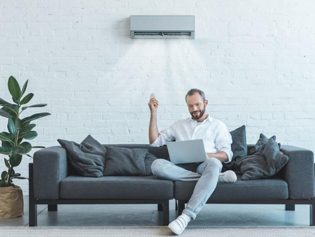 Klimaneutrale Kühlung durch eine mit Photovoltaik betriebene Klimaanlage für Ihr Zuhause